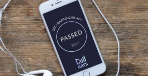 Senate passes the Over-the-Counter Hearing Aid Act of 2017, making hearing care through smartphone apps affordable and accessible for all